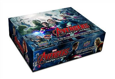 2015 Avengers Age of Ultron Master Set 150 Cards; 90 Base Set + all 4 Chase Sets