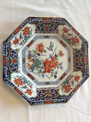 Antique Japanese Imari Charger Plate A/F - signed - marked
