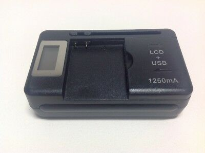Universal Charger for Most 3.7V Lithium Digital Camera Batteries