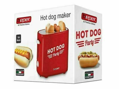 Macchina per Hot Dog 5 livelli di cottura 750W Hot Dog Maker con vassoio