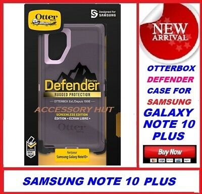 New Otterbox DEFENDER Case for Samsung Galaxy Note 10+ PLUS Purple  77-62314