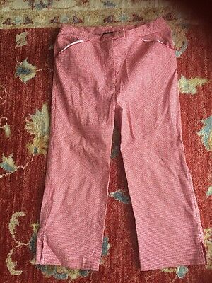 Jasper Conran Girls Cropped Trousers Age 9 Years VGC ⭐️