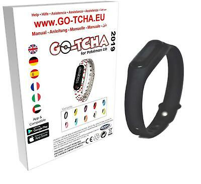 Go-Tcha  2019  LED-Touch-Armband  Black  Edition  für Pokémon  Go  Auto-Catch