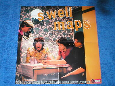Poster Grupo Swell Maps Musica Punk Rock Experimental Munster Records Excelente!