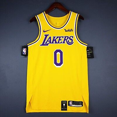 quality design 3d6a7 95783 100% AUTHENTIC KYLE Kuzma Nike Lakers Icon Jersey Size 56 ...
