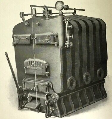 CATALOG: Ca. 1920 AMERICAN RADIATOR COMPANY- IDEAL STEAM BOILERS NR