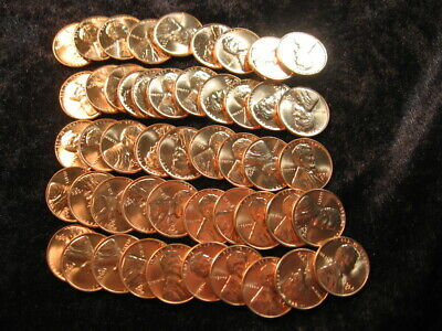 ✯ 1958 P ✯ Wheat Penny ✯ Mint State ✯ BU ✯ Lincoln Cent