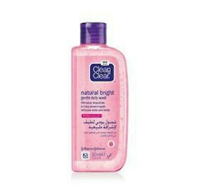 Clean & Clear Natural Bright Face Wash 50Ml