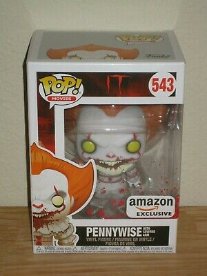 NIB Pennywise with Severed Arm Amazon Exclusive Funko Pop! IT Movie #543