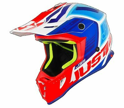 Helm Helmet Casque Just 1 Blade pro J38 Cross Motard Enduro-Mx Offroad Größe L