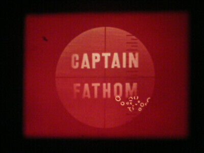 "16Mm Film-Captain Fathom--Episodes 76-80-""Rustlers Of The Sea Range""-Syncro Vox"