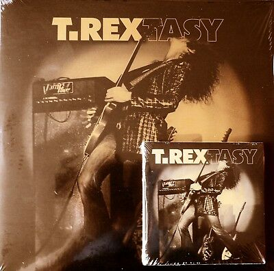 Marc Bolan & T.rex : 'T.rextasy' - Live Double Lp/Cd Package. Mirror-Board Lp