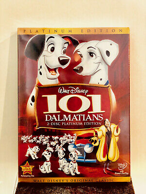 101 Dalmatians (DVD, 2008, 2-Disc Set, Platinum Edition) BRAND NEW w/ SLIPCOVER
