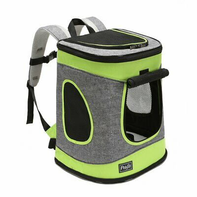 Petsfit Fabric Foldable Pet Carrier/Backpack For Dogs And Cats With Soft Fleece,