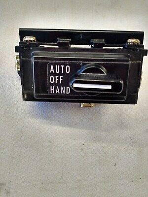 Square D Hand-Off-Auto Selector Switch 9999 TYPE SC2