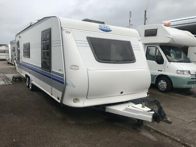 2004 HOBBY Exclusive  700 UK 5 berth fixed island bed