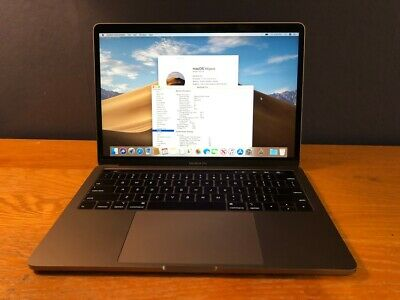 """Apple 2018 MacBook Pro Touch Bar 13"""" 2.7GHz i7 QC 512GB 16GB Remote Management"""