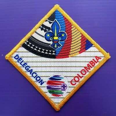 24th World Scout Jamboree 2019  Contingent PATCH / COLOMBIA WSJ BADGE