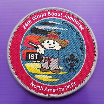 24th World Scout Jamboree 2019  Contingent PATCH / GERMANY IST WSJ badge