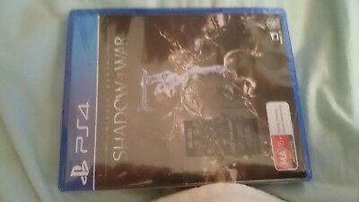 Middle Earth Shadow of War Game For Playstation 4 in brand New Condition