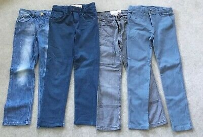 4 X Boys Jeans Pants Size 7 Cotton On Bauhaus Gumboots