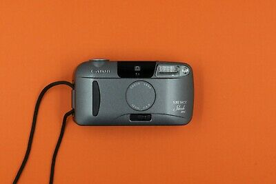 Canon Sure Shot Sleek - Compact 35mm film camera - fully tested & working