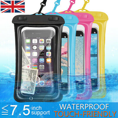 Waterproof Air Pad Case Underwater Cover Bag Pouch Mobile Cell Phone Universal