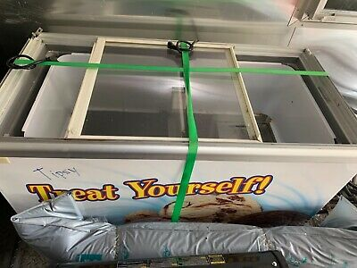 """Excellence EDC-8 48"""" ice cream dipping cabinet freezer"""