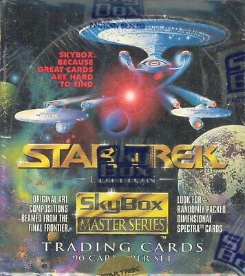 Star Trek Master Series Box (1993 Skybox) STAR TREK TRADING CARD BOX - 36 PACKS!