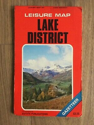 Old Leisure Map 151 - Lake District  - Possibly @ 30 Years Old