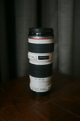 Canon EF 70-200mm f/4 L USM Zoom Lens in good used condition- UV filter included