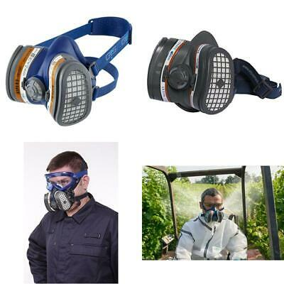 SPR503 Elipse A1P3 Dust And Organic Vapour Half Mask Respirator Filters Ready Fi