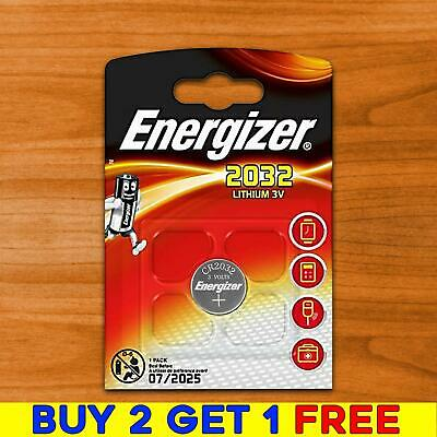 Energizer CR2032 3v LITHIUM Coin Cell Batteries (pack of 1) DL2032 BR2032