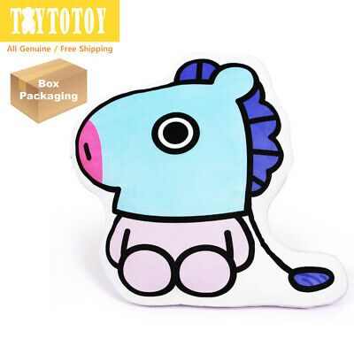Authentic BTS BT21 MANG 76cm 29.9in Mega Cushion Pillow Plush Toy Stuffed Doll