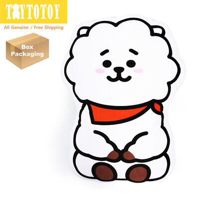 Authentic BTS BT21 RJ 83cm 32.6in Mega Cushion Pillow Plush Toy Stuffed Doll