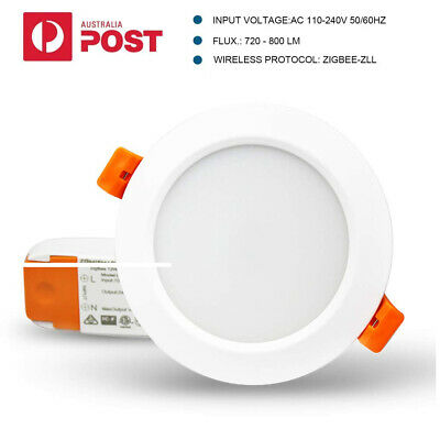 SmartThings Echo Plus 12W Smart ZigBee RGBW LED Downlight for Home Automation AU
