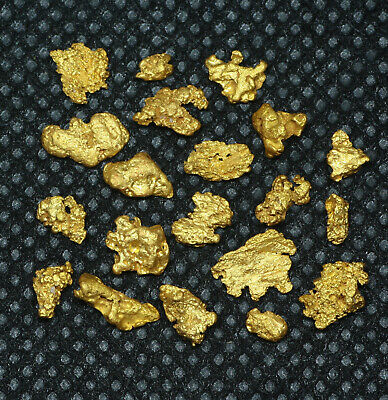 High Purity Natural Western Australia GOLD NUGGETS 4.06 grams