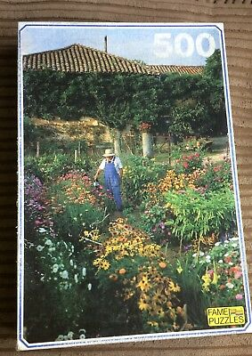 Gardening 500 Piece Jigsaw Puzzle Fame Puzzles Flowers/Plants/Watering