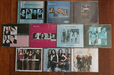 THE CORRS 10 x single cd collection