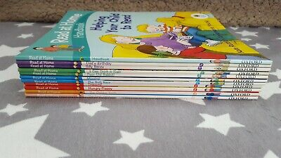 Oxford Reading Tree Read At Home Stages 1-5 10 Books Plus Handbook