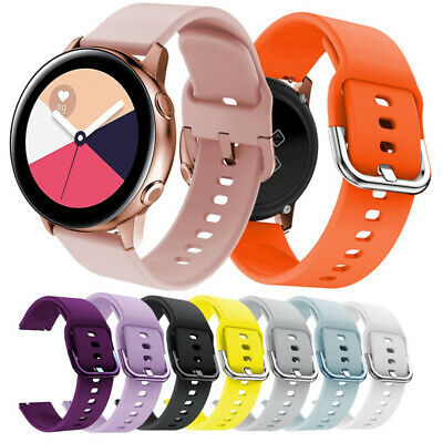20mm Replacement Sport Watch Band Silicone Strap For Samsung Galaxy Watch Active