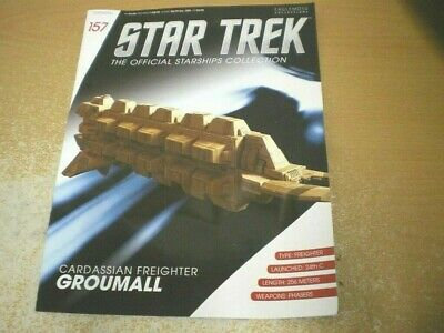 Star Trek Starships Collection Magazine Issue 157 Cardassian Freighter English