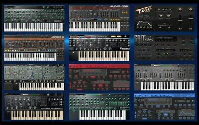 Roland VST Bundle (All the Roland Keyboards and Drum Machines  (windows )