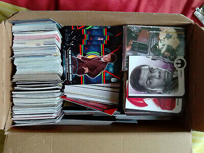 Box Full Of 500 Loose Chase Card Lot