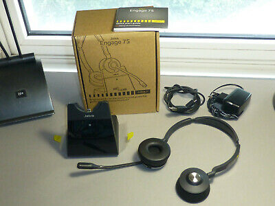 Neuw. Headset Jabra Engage 75 / Stereo – Binaural / Bluetooth Dect