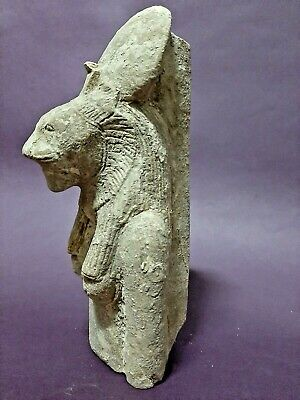 ANCIENT EGYPTIAN ANTIQUES Goddess SEKHMET Powerful Statue Egypt Art Scluptor