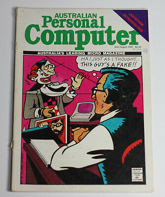 Australian Personal Computer (APC) Magazine (1 Issue from July 1981)