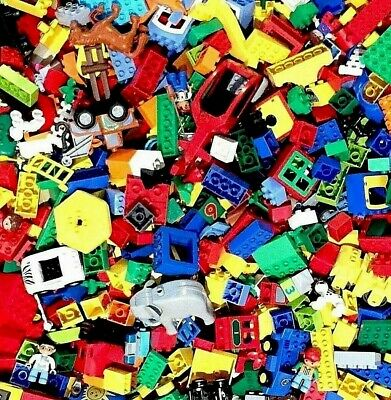 Lego Duplo Lot Of 100 Random Parts & Pieces, Great Mix!  Ships Free!