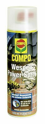 2X Compo Avispas Power-Spray 500ML Wespenspray Avispas