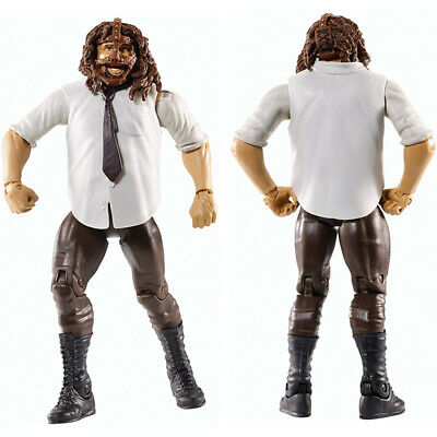WWF WWE Series 45 Mankind w/ Mask Mick Foley Wrestling Action Figure Kid Toy